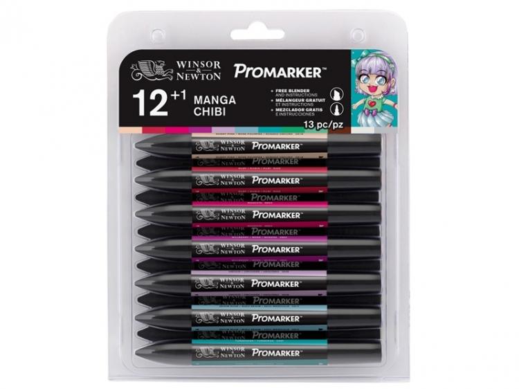 Promarker 12+1 zestaw Manga Chibi