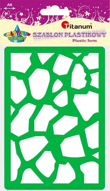 Szablon plastikowy A6 kamień 22936