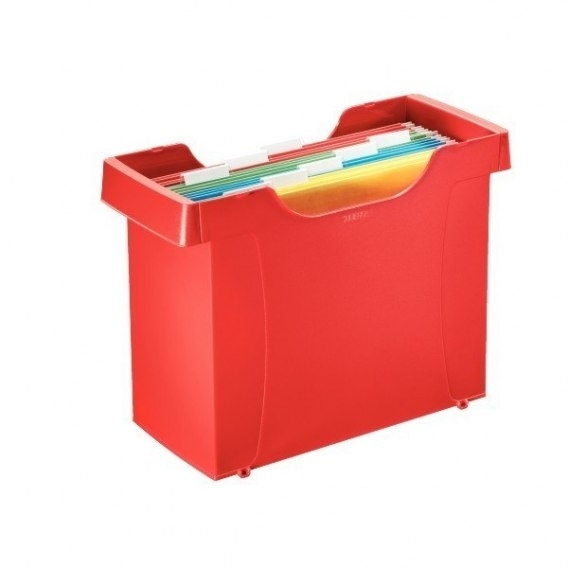 Kartoteka Decoflex Leitz  Plus czerwona
