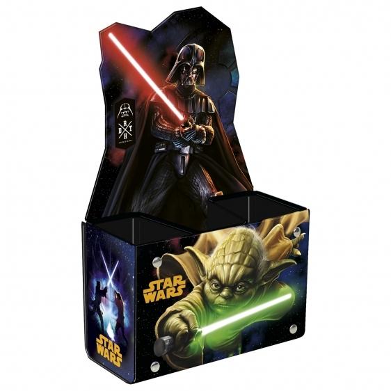 Przybornik na biurko Star Wars 3 komorowy