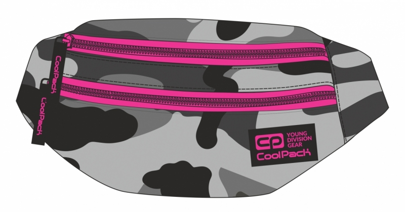 Saszetka nerka Coolpack Madison Kamuflaż A364