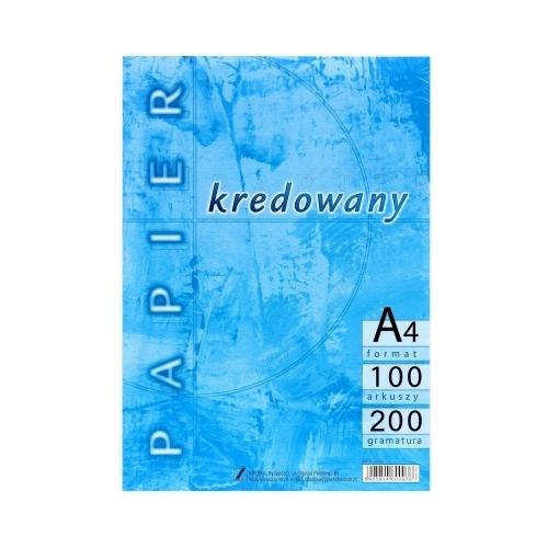 Papier kredowany A4/200g (100szt)