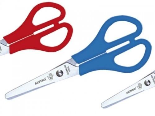 Nożyczki szkolne dla leworęcznych 13cm Alpino