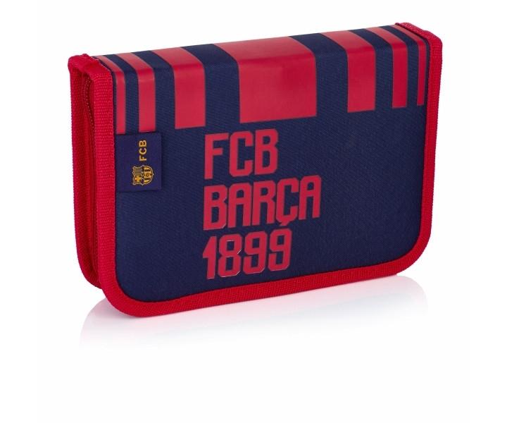 Piórnik pojedynczy bez wyposażeniem FC Barcelona FC-186
