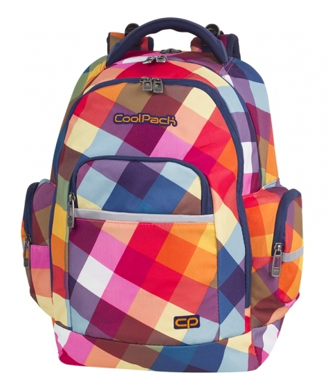 Plecak młodzieżowy Coolpack Brick Candy Check A531