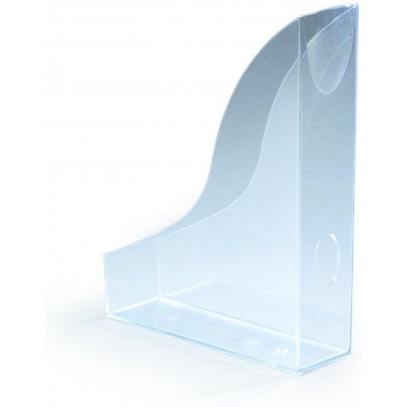 Pojemnik na czasopisma Basic A4 przezroczysty Durable