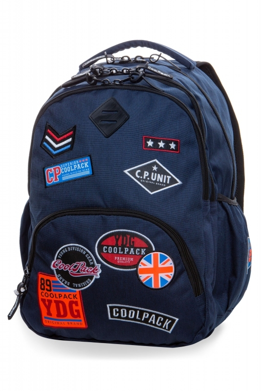 Plecak młodzieżowy CoolPack Bentley Blue