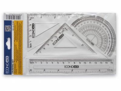 Zestaw przyborów geometrycznych 15 cm Taurus