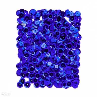 Cekiny metaliczne 9mm 15g niebieski ciemny Dalprint