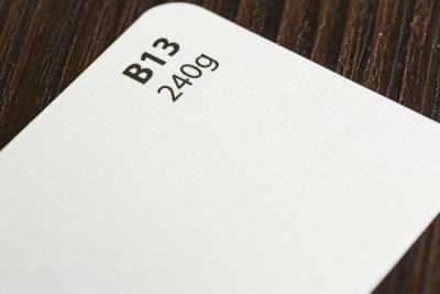 Papier wizytówkowy biały faktura płótna A4 op20szt. 246g