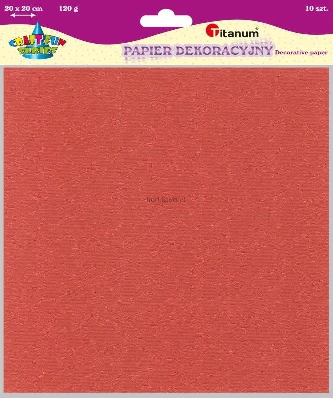 Papier dekoracyjny 20x20 cm 120g A`10 Zestaw 2