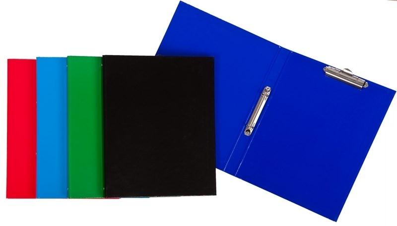 Segregator A4/2,5cm 2R z klipem niebieski