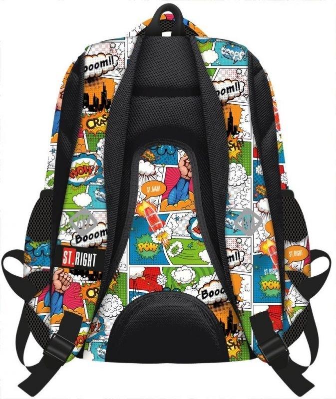 Plecak młodzieżowy St.Right Comics BP07