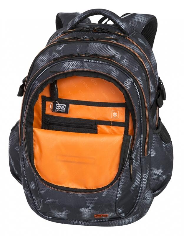 Plecak młodzieżowy Coolpack Factor Misty OrangeA158