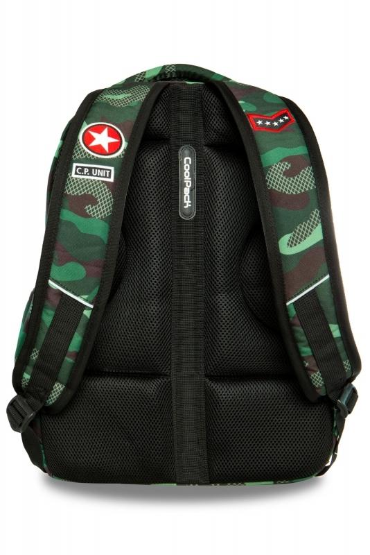 Plecak młodzieżowy CoolPack Bentley Camo Green