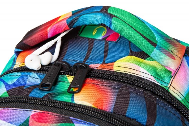 Plecak młodzieżo Coolpack Joy L Rainbow Leaves Led